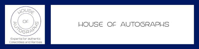 Header House of Autographs