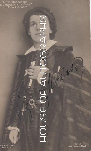 Moissi Alexander