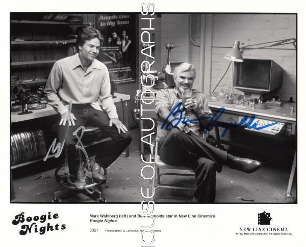 Reynolds Burt & Wahlberg Mark