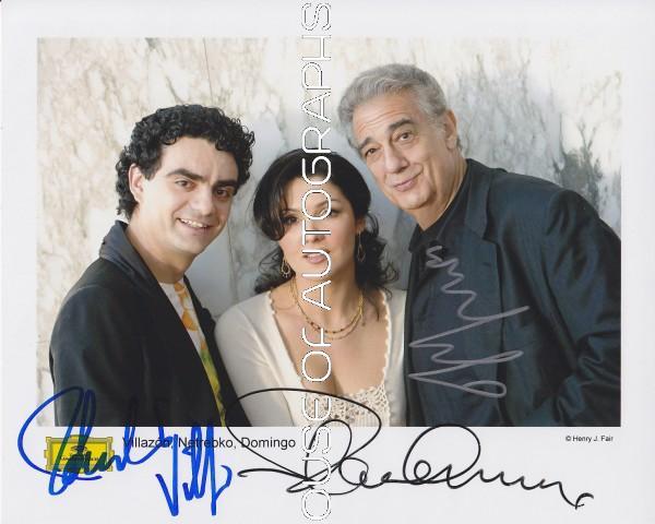 Domingo Placido, Netrebko Anna & Villazon Rolando